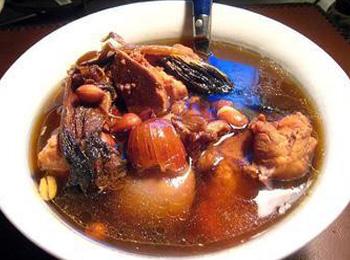 元蘑焖山鸡