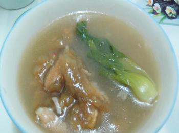 麻菌滑肉汤