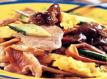 炒木犀肉薇菜