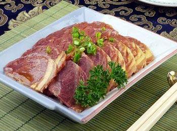 五香熏驴肉