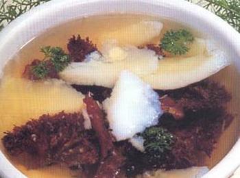 海蜇马蹄汤