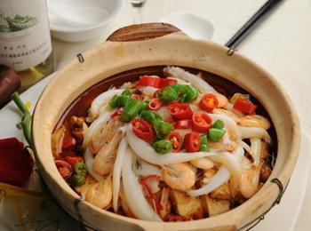 银鱼生鸡丝汤