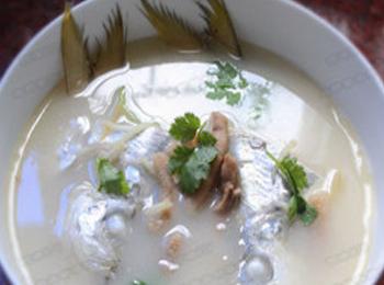 鳓鱼肉圆汤