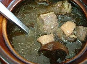 鲜榨菜丝汤