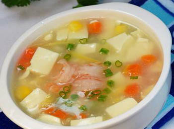 芙蓉豆腐汤
