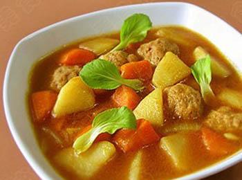 菜花土豆汤