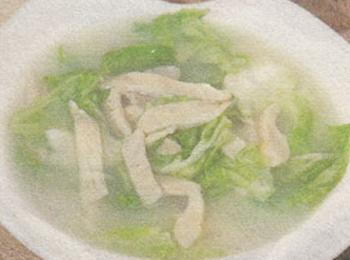 奶汤冻菌菜苞