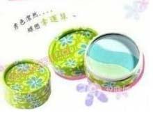 日本彩妆 圆舞三色眼影盒清新绿色系