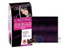 欧莱雅 可丝莹温和染发霜-瑰丽紫晶