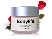 柏丽兰 玫瑰乳酸美白焕颜鲜花瓣面膜