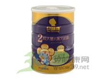 贝智康 贝智康双益较大婴儿配方奶粉2段