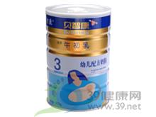 贝智康 贝智康牛初乳幼儿配方奶粉3段