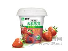 蒙牛 蒙牛纤维新意大粒草莓果实酸牛奶