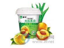 蒙牛 蒙牛纤维新意大粒芦荟黄桃果实酸牛奶
