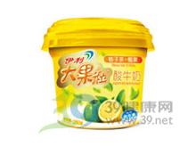 伊利 伊利大果粒柚子茶椰果酸牛奶