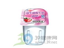 海河乳业 海河益生菌八连杯草莓果酱酸牛奶