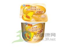 海河乳业 海河益生菌复合果粒酸牛奶(黄桃+芒果)