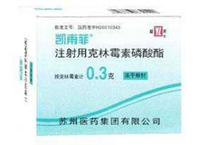 注射用克林霉素磷酸酯(凯甫菲)