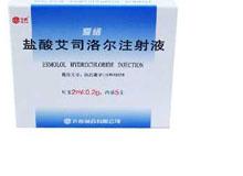 盐酸艾司洛尔注射液(爱络)