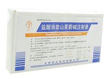 盐酸消旋山莨菪碱注射液