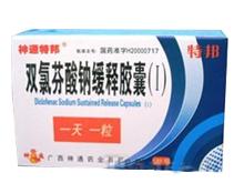 双氯芬酸钠缓释胶囊(I)