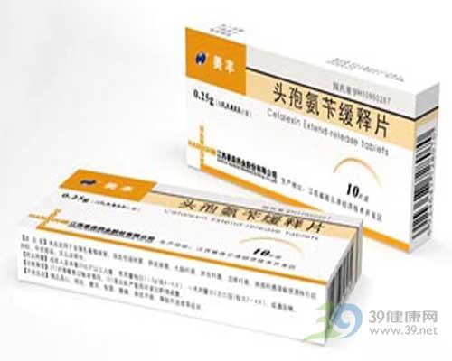 头孢氨苄缓释片
