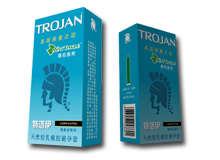 天然胶乳橡胶避孕套(商品名:特洛伊避孕套)