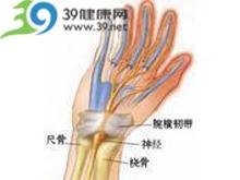 拇、食、中三指有放射痛