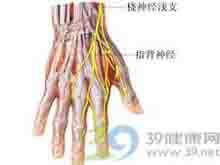 腕关节向尺侧偏斜时桡侧出现剧痛