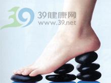 足踝部光滑圆形的包块