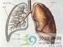 两肺毛玻璃样粟粒样或结节样改变